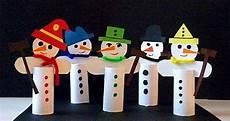 Sneeuwpop Knutselen Met Kleuters Winter