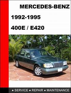 car repair manual download 1992 mercedes benz 400e interior lighting mercedes benz 400e e420 1992 1995 service repair manual downloa