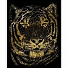 gold foil engraving kit 8 quot x10 quot bengal tiger goldfl 23