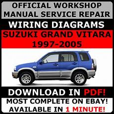 free online auto service manuals 2008 suzuki xl 7 transmission control official workshop service repair manual for suzuki grand vitara 1997 2005 ebay