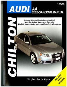 car repair manuals online free 2008 audi a4 electronic throttle control chilton audi a4 2002 2008 auto service workshop maintenance repair manual