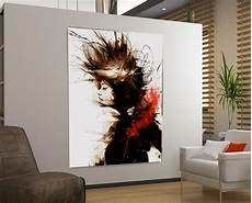 Ikea Bilder Leinwand - xl bild abstrakt frau lounge ikea 100x70x5 loft design