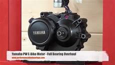 yamaha pw motor bearing overhaul
