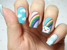 cute easy nail designs for kids fashion female