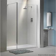 Classic 6mm Shower Wall With Easy Clean Glass Classic