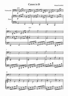 canon in d piano sheet music free printable free printable