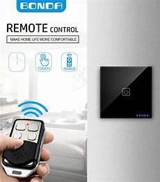 Bonda Smart Switch Type Wall Touch bonda smart switch type 86 1 2 3 way rf433 wireless remote