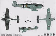 focke wulf fw 190 a 8 airfix 1 72 modeling