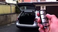 golf sportsvan elektrische heckklappe nachrüsten vw passat b6 auto trunk release opener closer fob