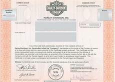 Harley Davidson Certification by Harley Davidson Inc And
