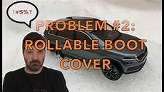 My Skoda Kodiaq Problem 2 Rollable Boot Cover