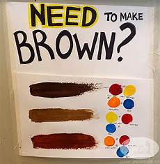 how to mix paint colors to make brown 9 steps with pictures posion antidote december 2013