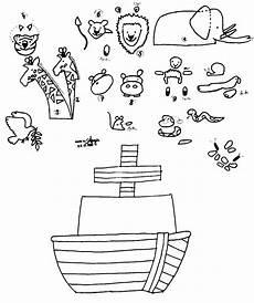 Malvorlagen Kinder Arche Die Arche Noah Im Detail Zum Ausschneiden Zur Taufe