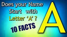 Namen Mit I - 10 facts about the whose name starts with letter a