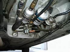 re benzinfilter ist liegend eingebaut
