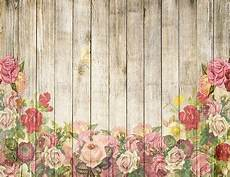 7x5ft Flower Board Photography Backdrop by 7x5ft Retro Rustic Wood Boards Beautiful Flowers Backdrop