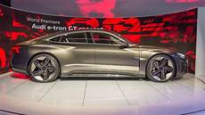 audi e gt concept packs 248 mile range 3 5 second 0