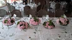 Centre De Table Hortensias Et Lavande Pour Un Mariage
