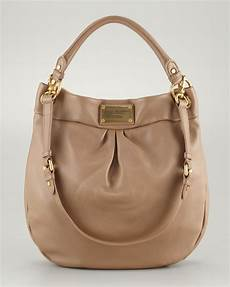 marc by marc classic q hillier hobo bag praline in