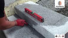 Blockstufen Beton Setzen - blockstufen granitblockstufen gebunden versetzt