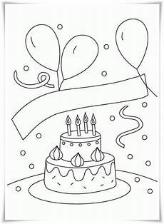 Ausmalbilder Kostenlos Ausdrucken Geburtstag Malvorlagen Zum Geburtstag