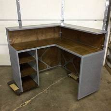 Small Shop Desk by Crafted Small Shop Reception Desk Point Of Sale