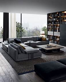 light filled contemporary living 25 modern living rooms that catch an eye digsdigs