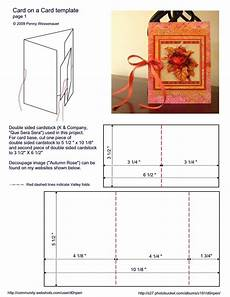 u fold card template 517 best images about cards folding techniques on