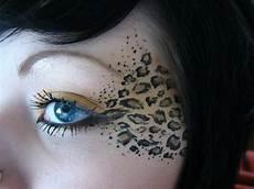 leoparden augen schminken leopard gesicht schminken 56 tolle ideen archzine net