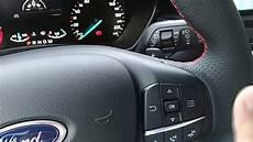 Neuer Ford Focus 2018 Bordcockpit Und Bordcomputer