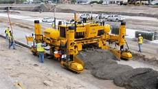 world amazing modern technology road construction machines