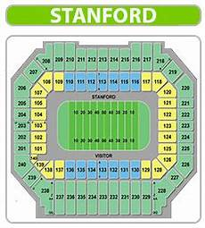 Stanford Stadium Seating Chart Earthquakes Stanford Football Tickets 2019 Stanford Cardinal