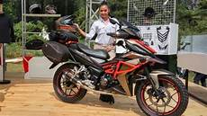 Supra Gtr 150 Modif Touring by Ini Honda Supra Gtr 150 Yang Jadi The Real Grand Touring