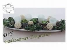Badezimmer Selber Machen - diy badezimmer dekoration selber machen mit sukkulenten