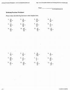 lowest term fraction worksheet for grade 6 4269 9 best images of fraction worksheets for 12th grade reducing fractions worksheet lowest terms