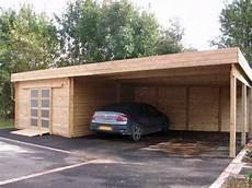 garage de jardin pas cher car port carport bois adoss 233 pas cher vente carports 2