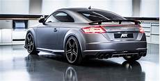 audi tt tuned by abt has 310 hp gunmetal gray wrap for