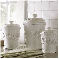 white ceramic kitchen canisters ceramic canisters ebay
