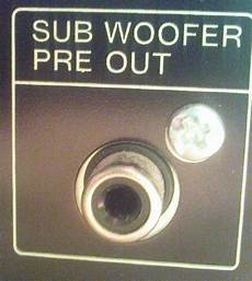 pre out subwoofer car audio systems