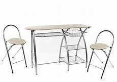 küchenbar mit 2 stühlen hti line k 252 chenbar mit 2 st 252 hlen 187 171 kaufen otto