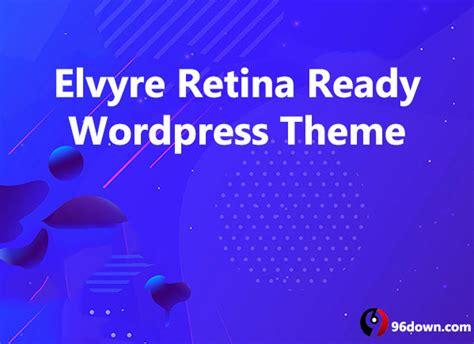 elvyre themeforest retina ready wordpress theme