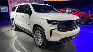 The 2021 Chevrolet Suburban/Tahoe Will Have A 277 HP