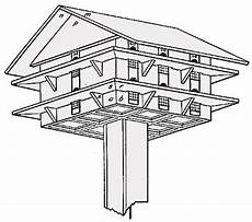 simple purple martin house plans purple martin bird house plan