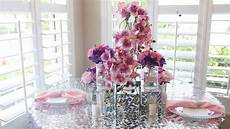 diy glam wedding table decorations centerpiece youtube