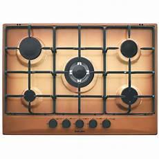 piano cottura terra di francia glem gas gt755tf piano cottura a gas 70 cm 5 fuochi colore