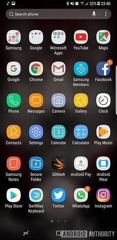 app android is touchwiz on the galaxy s8 the best android skin
