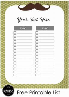 free cute to do list many designs print at home