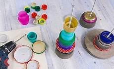 Basteln Mit Flaschendeckeln - kerzenst 228 nder aus flaschendeckeln kunst flaschendeckel