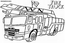 Gratis Malvorlagen Feuerwehrauto Truck Coloring Pages Pdf At Getcolorings Free