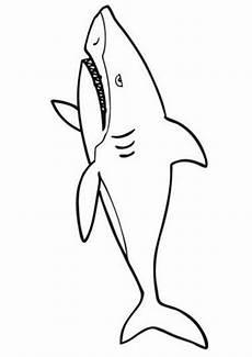 ausmalbilder haifisch 07 ausmalbilder tiere